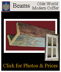 old english beams - light weight easy to install