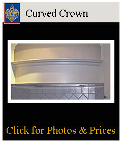 Curved crowns made from flexible Resinmold