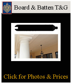board and batten for ceilings and cabinetry